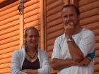 Finały-Stefanie Voegele SUI i jej trener