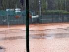 Burza pół godziny po finale